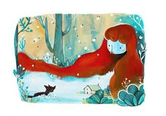 Little Red Riding Hood on Behance