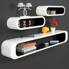 Lot de 3 étagères Cubes -Noir-blanc – Look Rétro - Achat / Vente meuble étagère 3 étagères Cubes -Blanc-noir - Cdiscount