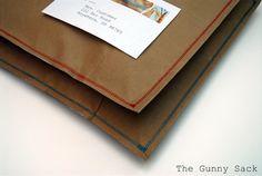 brown paper bag envelopes