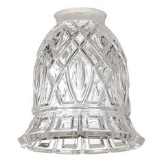 """2 1/4"""" Fitter Set of 4 St. Thomas Crystal Glass Shades - #78111-78111-78111-78111 