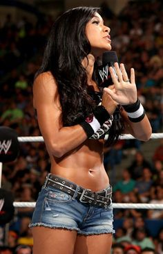WWE Divas Champ AJ Lee. That body, tho