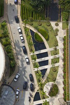 22 Landscape Garden Architecture – vintagetopia - New ideas Landscape Architecture Drawing, Landscape And Urbanism, Landscape Design Plans, Park Landscape, Green Architecture, Urban Landscape, Urban Design Plan, Design Exterior, Parking Design