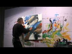 CONFLUENCE - New Large Flow Paintings by Jonas Gerard - YouTube
