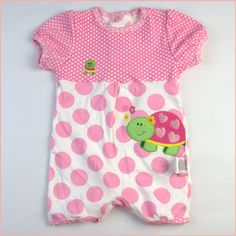 vestidos de desgaste bonito do bebê do menino / menina macac?o de manga curta nova nascidos Carters crian?a corpo ver?o infantil trepadeiras...