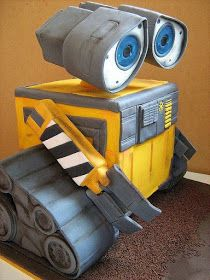 By Sweet Disposition Cakes. Cake Wrecks - Home Crazy Cakes, Fancy Cakes, Pink Cakes, Gorgeous Cakes, Pretty Cakes, Cute Cakes, Amazing Cakes, Sweet Cakes, Wall E