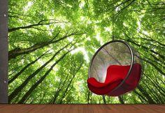 Fototapete Sunny Forest 2 - märchenhaftes Idyll | wall-art.de Online Shop