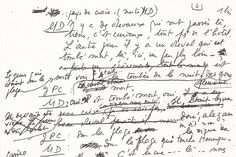 Marguerite Duras, Sheet Music, Math Equations, Letters, Contemporary Art, Music Sheets
