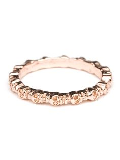 The new Bing Bang for @BaubleBar pieces are right up my alley - hello, skulls! Plus, pretty rose gold won't turn your digits green.