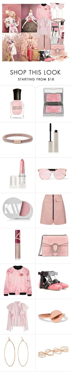 """But he who dares not grasp the thorn, should never crave the rose"" by brownish ❤ liked on Polyvore featuring Deborah Lippmann, Sisley - Paris, Carolina Bucci, Kjaer Weis, Rodin, Karen Walker, Topshop, Wander Beauty, Gucci and Opening Ceremony"