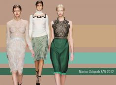 Marios Schwab's F/W 2012 collection