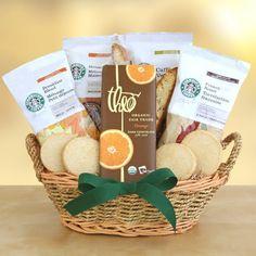 Spring into Starbucks Basket