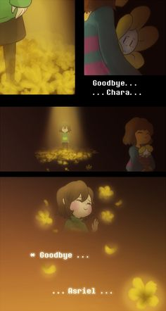 *There were many timelines before this one. *In many of them, only Asriel could be saved. But Frisk . . . *They refused to give up.