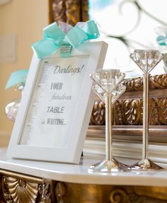 Breakfast at Tiffany's Bridal Shower | CatchMyParty.com