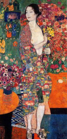 Gustav Klimt: The Dancer Poster Gustav Klimt, Art Klimt, The Dancer, Illustration, Norman Rockwell, Art Plastique, Monet, Painting & Drawing, Art Nouveau