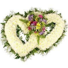 Floral Tributes   Hearts and Crosses   Funeral Flowers