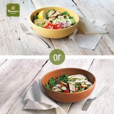 Our Power Chicken Hummus Bowl and Power Breakfast Egg White Bowl with Roasted Turkey are out of hiding! Stop by to try these power bowls.