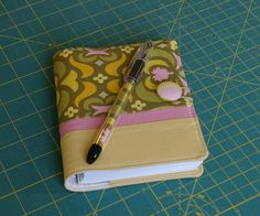 Covered Notebook with Matching Pen Tutorial
