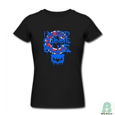 Popular Chicago Cubs Cubble Blue Female's Crew Neck Short Sleeves Tshirt