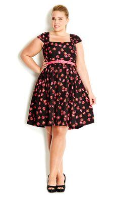 City Chic - POPPY RAIN DRESS - Women's Plus Size Fashion Size L  http://www.citychic.com.au/POPPY-RAIN-DRESS.aspx?p6181193&cr=w2wl__045021