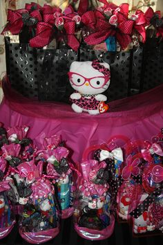 Hello Kitty party--- favors