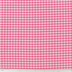 """1/8"""" Gingham Check Fabric"""