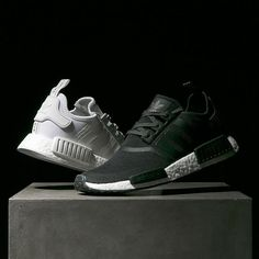 ecf8390882bf These adidas Originals NMD Reflect All of the Street Lights at Night   Equally brilliant in white and black.