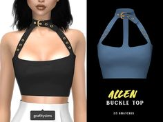 { grafity } — 🖤 Ain't Cute Collection 🖤 Includes 5 items:. Sims 4 Mods Clothes, Sims 4 Clothing, Girl Clothing, Sims 4 Game Mods, Sims Mods, Sims 4 Mm Cc, My Sims, Sims 4 Black Hair, The Sims 4 Packs