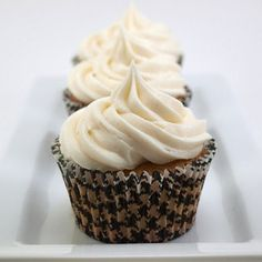 Chocolate Cream Filled Vanilla Bean Cupcakes with Vanilla Bean Frosting Recipe