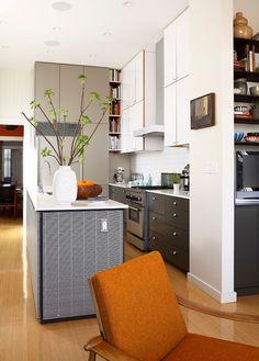 Una cocina abierta en un espacio pequeño - Ebom | Ebom