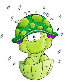 Regentropfen auf meinen Panzer klopfen....