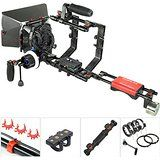 New Launch Flyfilms 5000 with Yoko Steady Stabilizer Support Dual Grip Handheld Video Steadycam for DSLR DV Camera Video Movie Shoot Canon Nikon Sony Panasonic