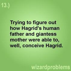 lol, wizard problems.