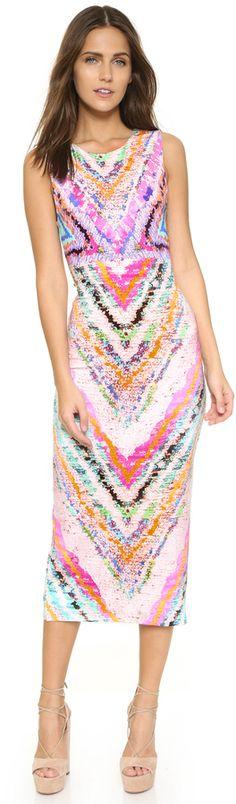 Mara Hoffman Tie Back Midi Dress
