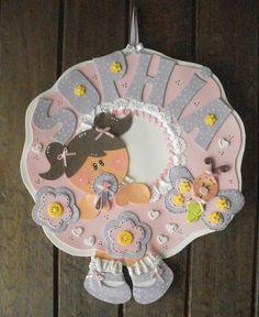 Manualidades Luna Clara   category: Bebes Carteles con nombres