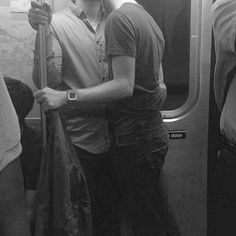 Get on a train, make out on a train, make everyone on the train either horny or uncomfortable