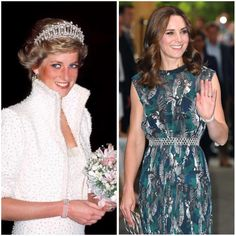William and Kate in Germany, Day 4 of tour - Kate wears a bracelet worn by the late Princess Diana