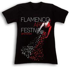 #Flamenco #Arts #Festival #T-shirt T-shirt design by Emily Maye Abshere