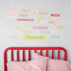 Kids wall decals world map chalkboard decal world map chalkboard ballet decals land of nod gumiabroncs Gallery