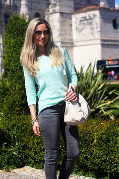 look do dia, ootd, look of the day, skinny jeans, padrão de zebra, verde menta, mint, zilian choose, spring trends, animal print, tendências...