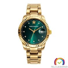 Reloj Mark Maddox de chica, Dorado. Ref: MM0014-67