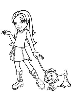 Polly Pocket Coloring Pages | COLORING PAGES FOR FREE | Pinterest | Adult  Coloring And Stamps