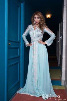 Collections haute couture orientale, caftans,Takchetas, jellaba, jabador - Safâa Stylisme