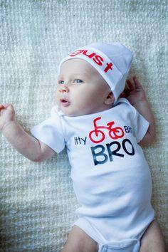ad02b3060b9 New item at TheNewBabyBoutique Boutique Itty Bitty Bro newborn boy bodysuit. new sibling newborn take home outfit - Newborn boy hospital gown - Baby Boy  Gift ...