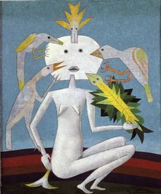 Tristan Tzara, Contemporary Artists, Modern Art, Ritual Spirit, Victor Brauner, Joan Miro Paintings, Animal Symbolism, Abstract Geometric Art, Max Ernst