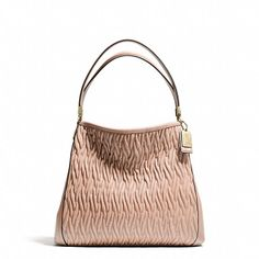 Coach MADISON SMALL PHOEBE SHOULDER BAG IN GATHERED TWIST LEATHER. Authentic Coach handbags, find them on eBay, brought together for you in one convenient site! Time and money savings! www.womensdesignerhandbag.com