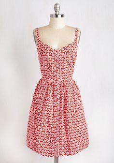 Can't Bold It In Dress in Swirls, #ModCloth