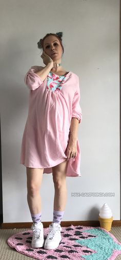 Amuse Boho Dress (pattern by Winter Wear Designs) for maternity • www.max-california.com