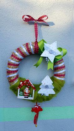 My wreath..venček za Zelenčico