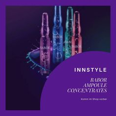 1-InnStyle — 🚫Ampoule Concentrates🚫 * ⚠️●-10%💥 auf Babor... Shops, Light Bulb, Pictures, Tents, Retail, Retail Stores
