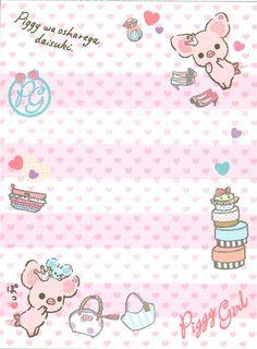 cute mini Memo Pad Piggy Girl pig with perfume 4